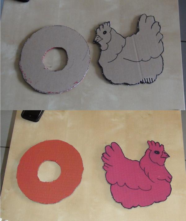 Mobile de Pâques avec petits oeufs (1ère partie)