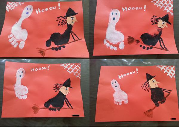Bricolage et activit s avec les enfants page 2 Bricolage maternelle halloween